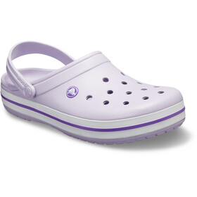 Crocs Crocband Sandals purple/white